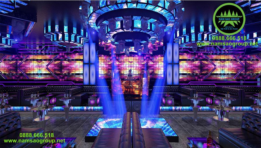 Thi công lắp đặt âm thanh ánh sáng Bar Club Vũ Trường Karaoke tại TPHCM