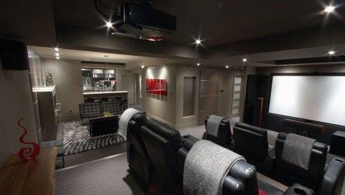 Mẫu thiết kế phòng phim giải trí gia đình 024