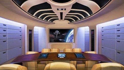 Mẫu thiết kế phòng phim giải trí gia đình 037