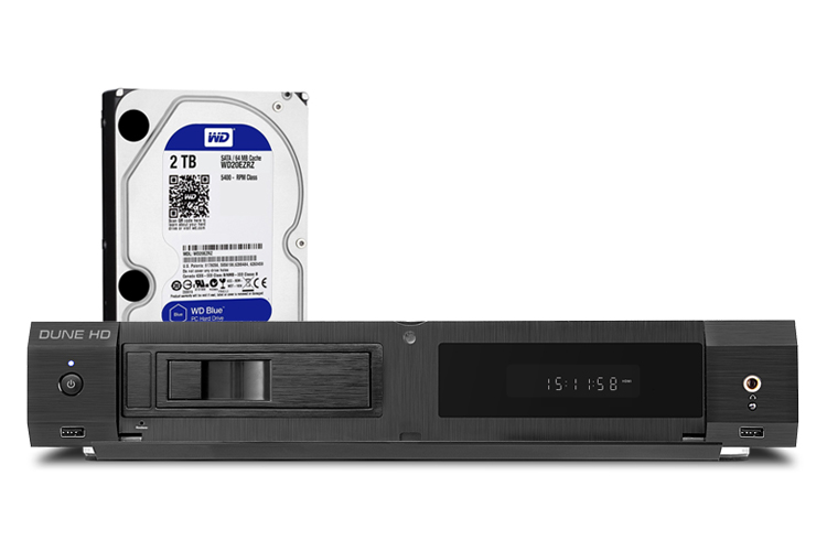 Dune HD Ultra 4K - Blue 2TB