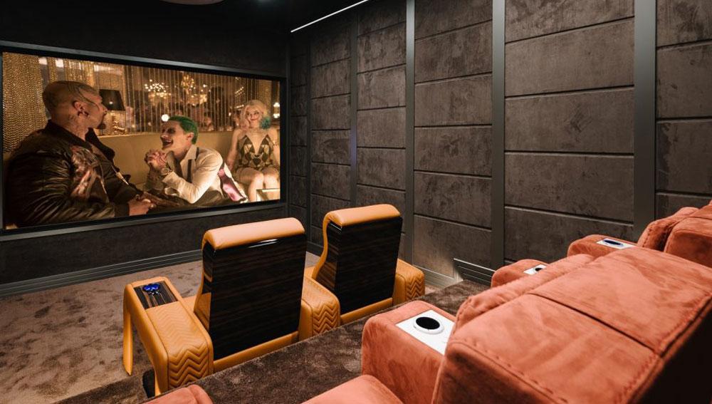 Báo giá thiết kế thi công phòng chiếu phim giải trí tại nhà