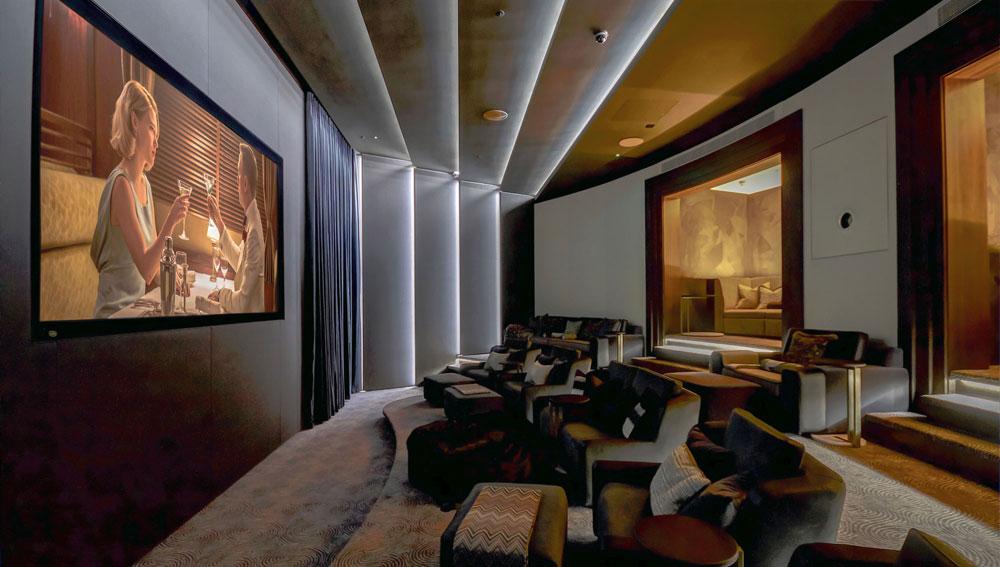 Thiết kế thi công phòng chiếu phim tại nhà